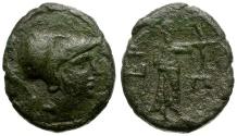 Ancient Coins - Arkadia. Orchomenos Æ Dichalkon / Artemis
