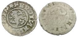 World Coins - Kingdom of Bohemia. Ferdinand I (1521-1564) AR Uniface Weiss-Pfennig