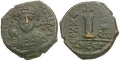 Ancient Coins - *Sear 239* Byzantine Empire. Justinian I Æ Decanummium