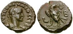 Ancient Coins - Claudius II Gothicus (AD 268-270). Egypt. Alexandria Æ Tetradrachm / Eagle