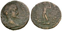 Ancient Coins - Septimius Severus (AD 193-211). Messenia. Asine Æ21 / Poseidon