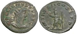 Ancient Coins - Gallienus, sole reign (AD 260-268) Æ Antoninianus / Serapis