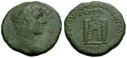 Ancient Coins - Elagabalus.  Moesia.  Nikopolis Æ25 / City Gate