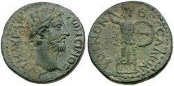 Ancient Coins - Marcus Aurelius. Thessaly. Koinon Æ Diassarion / Athena