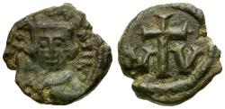 Ancient Coins - Byzantine Empire.  Constans II Æ Decanummium