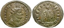 Ancient Coins - Maximian, first reign (AD 286-305) Silvered Æ Antoninianus / Hercules