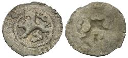World Coins - Kingdom of Bohemia and Hungary. Vladislaus II Jagiellon (1471-1516) AR Uniface Weiss-Pfennig