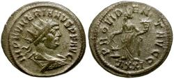 Ancient Coins - Numerian Æ Antoninianus / Annona