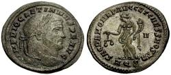 Ancient Coins - aEF/EF Diocletian Æ Follis / Moneta