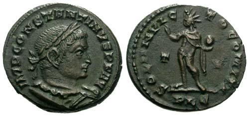 Ancient Coins - VF/aVF Constantine the Great / Mars