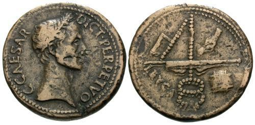 Ancient Coins - Very early cast or possibly struck Paduan of Julius Caesar