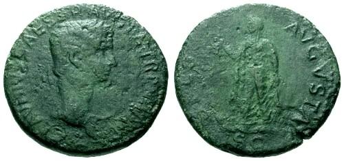 Ancient Coins - gF+/gF+ Claudius Large Heavy AE Sestertius / Spes