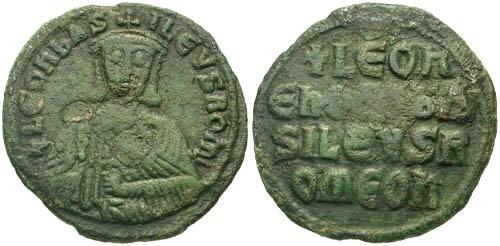 Ancient Coins - gF/gF Leo VI the Wise Follis