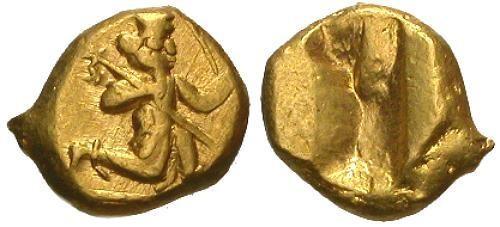 Ancient Coins - VF/VF Achaemenid Kings of Persia Darius I to Xerxes II AV Daric