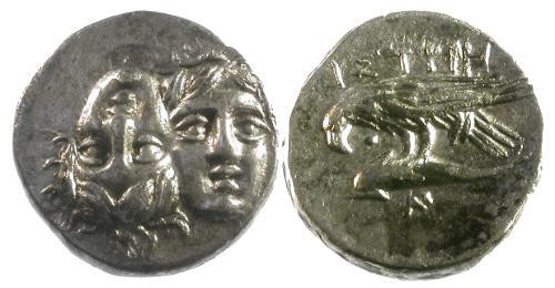Ancient Coins - EF/EF Moesia, Istros AR Stater