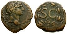 Ancient Coins - Trajan. Seleucis and Pieria. Antiochia ad Orontem Æ22 / Wreath