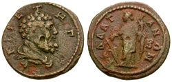 Ancient Coins - Moesia Inferior. Kallatis Pseudo-autonomous Æ21 / Herakles