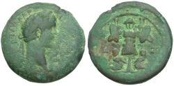 Ancient Coins - Antoninus Pius (AD 138-161). Egypt. Alexandria Æ Drachm / Trophy and Captives