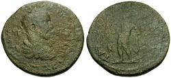 Ancient Coins - Trajan Decius, Cilicia, Tarsus Æ34 / Apollo