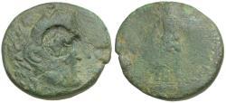 Ancient Coins - Thrace. Lysimachea Æ23 / Artemis