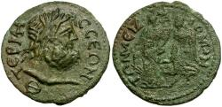 Ancient Coins - Pisidia. Termessos Major. Pseudo-Autonomous Issue Æ30 / Tyche Crowned by Nike