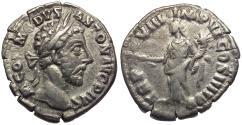 Ancient Coins - Commodus (AD 177-192) AR Denarius / Pax