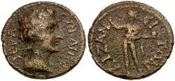 Ancient Coins - Phrygia. Aizanis. Pseudo-autonomous Æ27 / Helios