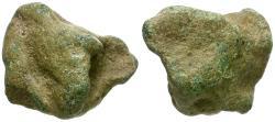 Ancient Coins - Roman Republic Æ Aes Rude