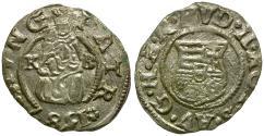 World Coins - Hungary. Rudolf II AR Denar