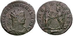 Ancient Coins - Galerius, as Caesar (AD 293-305) Æ Antoninianus / Concordiae