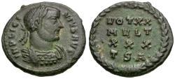 Ancient Coins - Licinius I (AD 308-324) Æ3 / Votive