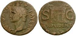 Ancient Coins - Augustus Æ AS / Altar