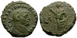 Ancient Coins - Diocletian, Egypt Alexandria Billon Tetradrachm / Elpis