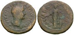 Ancient Coins - Hadrian (AD 117-138). Mysia. Hadriani ad Olympum Æ23 / Athena