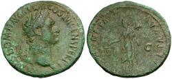 Ancient Coins - Domitian Æ AS / Moneta