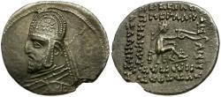 Ancient Coins - Kings of Parthia. Mithradates III (87-80 BC) AR Drachm