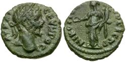 Ancient Coins - Septimius Severus. Moesia Inferior. Nikopolis ad Istrum Æ15 / Homonoia