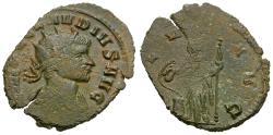 Ancient Coins - Claudius II Gothicus (AD 268-270) Æ Antoninianus / Spes
