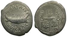 Ancient Coins - Mark Antony AR Legionary Denarius / Legion VIII