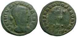 Ancient Coins - Licinius II Æ3 / Votive