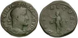 Ancient Coins - Maximinus I Æ Sestertius / Pax
