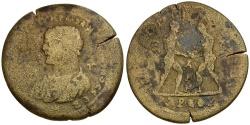 Ancient Coins - Caracalla. Cilicia. Tarsos Æ36 / Wrestlers