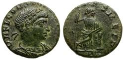 Ancient Coins - Constans as Augustus Æ4 / Securitas
