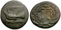 Ancient Coins - Sikyonia. Sikyon Æ Dichalkon / Warren Plate coin