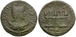 Ancient Coins - Caria. Attuda. Pseudo-autonomous Æ21 / Pine Cones