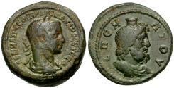 Ancient Coins - Severus Alexander. Egypt. Alexandria BI Tetradrachm / Bust of Serapis