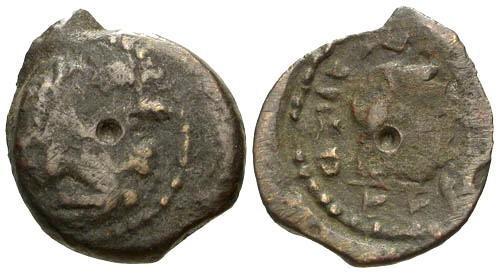 Ancient Coins - aF/aF Cyrenaica under Ptolemaic Rule / Bust of Libya