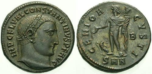 Ancient Coins - gEF/ gEF Constantine the Great Follis / Genius