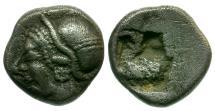 Ancient Coins - Ionia. Phokaia AR Diobol / Athena