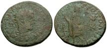 Ancient Coins - gF+/gF+ Gordian III, Cilicia Tarsos Æ35 / Elpis